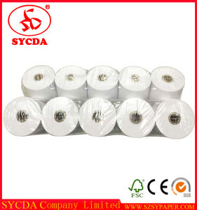 Cash Receipt Paper 80mm*80mm Thermal Paper Roll pictures & photos