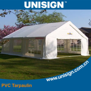 Black Inside PVC Coated Tarpaulin for Tent pictures & photos