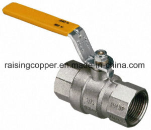 Nickle Plated Brass Ball Valve pictures & photos