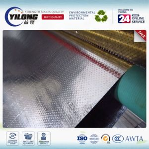 Multi Layer Cold Laminating Metalized Aluminium Fabric 150g Roof Insulation pictures & photos