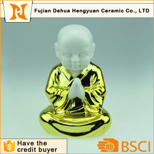 Wholesale Ceramic Praying Young Monk pictures & photos