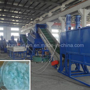 Waste Pet Bottle Flakes Washing Recycling Line
