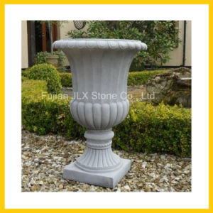 White Marble Antique Flower Pot Stone Garden Planter pictures & photos