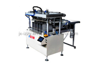 Automatic Silk Screen Printing Machine Price for Leather Shoes Pad pictures & photos