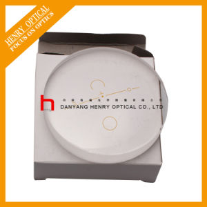 Semifinished 1.56 65mm Single Vision Optical Lens Hc pictures & photos