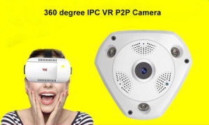 Wireless Fisheye Panoramic IP 1.3MP/3MP CCTV Security 3D Vr 3D Vr Camera pictures & photos