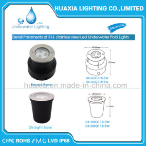 316 Stainless Steel IP68 LED Underwater Light pictures & photos