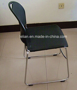 4 Pack Black Stack Chair, Black Frame, Black High Density, High Stacking, Ultra Compact Stack Chair (LL-0004) pictures & photos