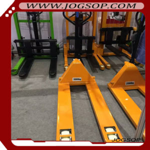 2.5-Ton AC Casting Hydraulic Hand Pallet Truck with Weight Balance pictures & photos