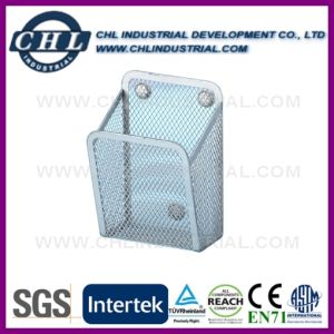Factory Wholesale Cube Shape Office Wire Mesh Pen Holder pictures & photos