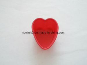 Small Heart Muffin Silicone Cake pictures & photos