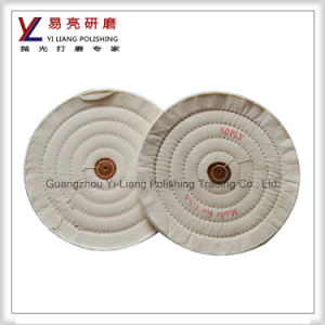 Muslin Polishing Buffing Wheel for Aluminum Ruler Mirror Finishing pictures & photos