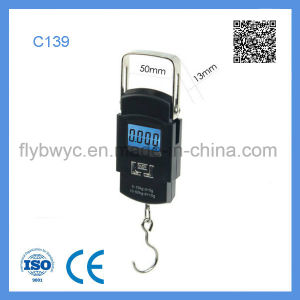 Mini Useful 50kg Electronic Portable Luggage Digital Scale pictures & photos