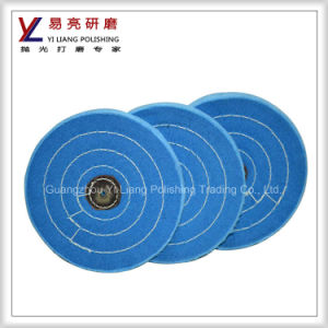 Promotional Factory Price Blue Cloth Buffing Wheel pictures & photos