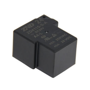 Zd4115 4 Pin 40A 24V Miniature Sesitive Power Relay for Household Appliances pictures & photos