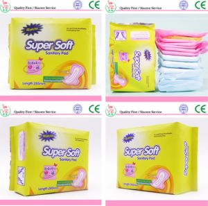 Regular Lady Pads, High Absorption Sanitary Napkin pictures & photos