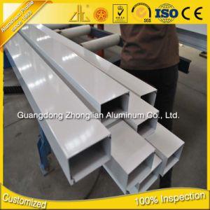 6063 T5 Aluminium Profile Accessories Boxes Aluminium Extrusion Square Tube pictures & photos