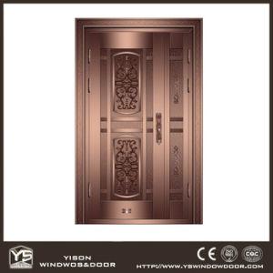Woodwin Super Quality Simple Style Single Casement Copper Door pictures & photos