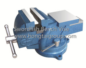 100mm Rotary Light Duty Bench Vise with Anvil pictures & photos