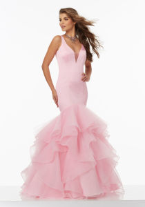 2017 Ruffle Organza Prom Evening Cocktail Party Dresses 99xx pictures & photos