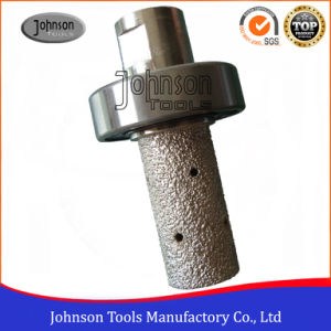 16-100mm Vacuum Brazed Diamond Milling Bits for Stone Edging and Shaping pictures & photos