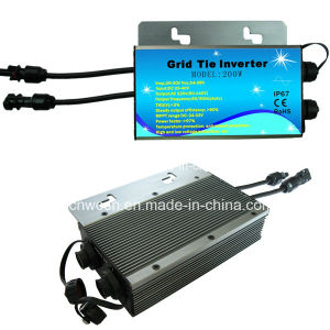 Wmvc 200W Waterproof DC AC Micro Grid Tie Inverter with IP65 pictures & photos