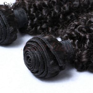 Hair Factory Quality Guaranteed 100% Human Virgin Remy Kinky Curl Human Hair (SL-HE7A004) pictures & photos