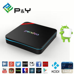 2016 Highperformance Pendoo X8 PRO+ Android 6.0 Amlogic S905X Media Player pictures & photos