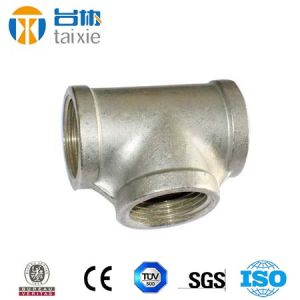 Carbon Steel Bw Reducer Tee pictures & photos