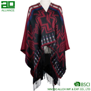 Fashion Bohemia Shawls Elegant Women Capes pictures & photos