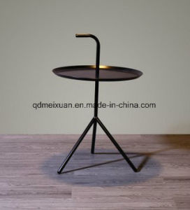 Iron Nordic Round Tea Table Multi-Functional Sofa Edge Round Coffee Table (M-X3763) pictures & photos