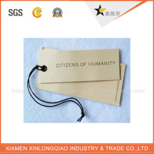 Best Price OEM Garment Accessories Kraft Paper Hang Tag pictures & photos