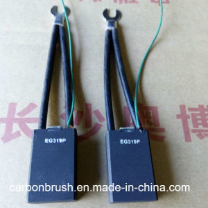Manufacturering different standard sizes of EG319P carbon brush with almar signal wire pictures & photos