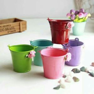 Colorful Metal Flower Pot pictures & photos