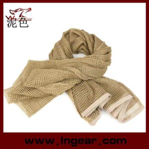 Multifunctional Tactical Scarf Scrim Scarf Airsoft Scarf Headwear Scarf Tan pictures & photos