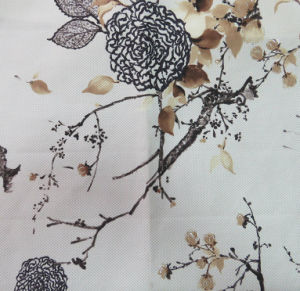 Gold Printing Upholstery Fabric (JH1888) pictures & photos