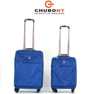 Chubont High Quality Leisure Design 4 Wheels Foldable Soft Trolley Bag pictures & photos