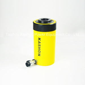 Single Acting Hollow Plunger Hydraulic Cylinder Jack pictures & photos