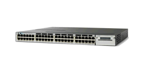 New Catalyst C3750X 48 Port Poe Gigabit Ethernet Switch (WS-C3750X-48P-E)