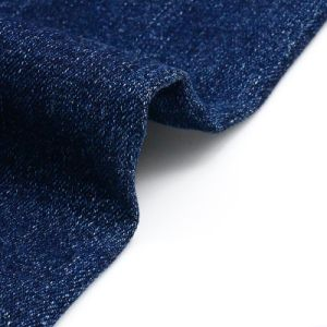 Discount Polyester Spandex Denim Fabric for Jeans pictures & photos