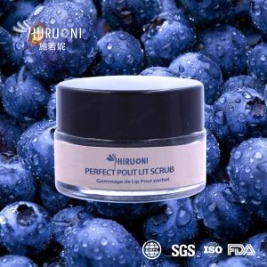 Blueberry Exfoliating Lip Care Surgar Lip Scrub pictures & photos