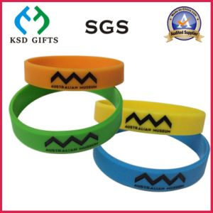 Australia Museum Promotion Rubber Wrist Band (KSD-870) pictures & photos