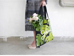 Fashion Leisure Modern Cotton Canvas Shopping Bag Handbag Tote Bag pictures & photos