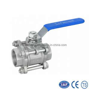 3PC Inside Thread Full Bore Floating Ball Valve pictures & photos