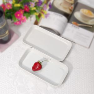 Mobile Porcelain Restaurant Rectangular Plates for Wholesales pictures & photos