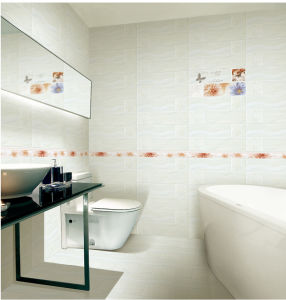 Building Material Glazed Interior Waterproof Ceramic Wall Tile 300X600mm pictures & photos