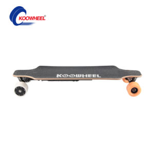USA and Europe Warehouse Dual Hub Motor Electric Skateboard From Koowheel pictures & photos