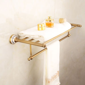 FLG Antique Bathroom Bath Towel Rack Wall Mounted Sanitary Ware pictures & photos