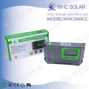 Solar Product 24V PWM Solar Charge Controller Types pictures & photos