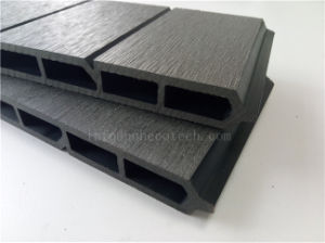 Landscaping Interlocking Fencing Board Wood Plastic Composite (WPC) Profile pictures & photos